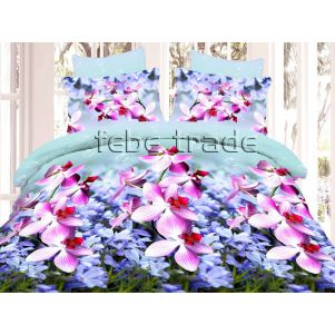 Pościel 3D - Cotton World - FSB-372 - 220x200 cm - 4 cz