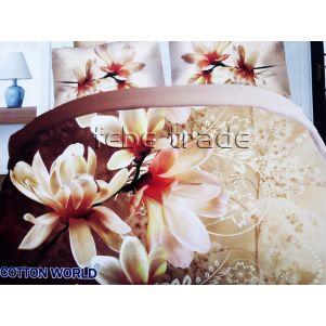 Pościel 3D - Cotton World - FSB-406 - 180x200 cm - 4 cz