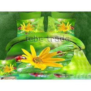 Pościel 3D - Cotton World - FST-1701 - 220x200 cm - 4 cz
