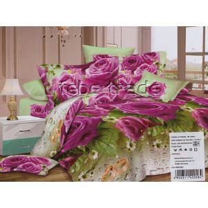 Pościel 3D - Cotton World - FST-1703 - 220x200 cm - 4 cz
