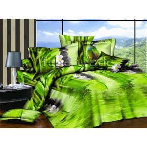 Pościel 3D - Cotton World - FST-1710 - 180x200 cm - 3 cz