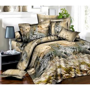 Pościel 3D - Cotton World - FST-1712 - 220x200 cm - 3 cz