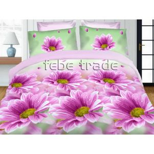 Pościel 3D - Cotton World - FST-1712 - 180x200 cm - 3 cz