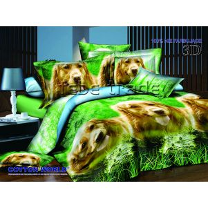 Pościel 3D - Cotton World - FST-280 - 160x200 cm - 3 cz