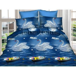 Pościel 3D - Cotton World - Febe - MSP-901 - 160x200 cm - 3 cz