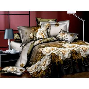 Pościel 3D - Cotton World - Febe - MSP-901 - 160x200 cm - 4 cz