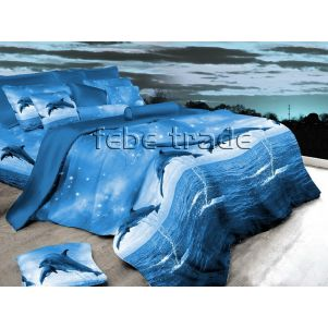 Pościel 3D - Cotton World - Febe - MSP-902 - 160x200 cm - 3 cz
