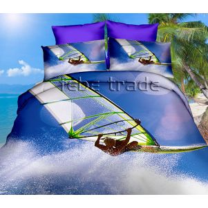 Pościel 3D - Cotton World - FPW-249 - 160x200 cm - 3 cz