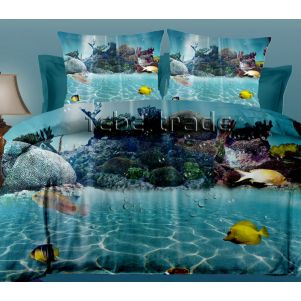 Pościel 3D - Cotton World - FPW-252 - 160x200 cm - 3 cz