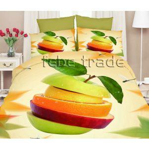 Pościel 3D - Cotton World - FPW-253 - 160x200 cm - 4 cz