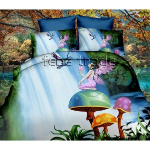 Pościel 3D - Cotton World - FPW-258 - 160x200 cm - 3 cz