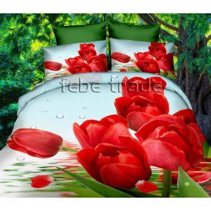 Pościel 3D - Cotton World - FPW-282 - 160x200 cm - 3 cz