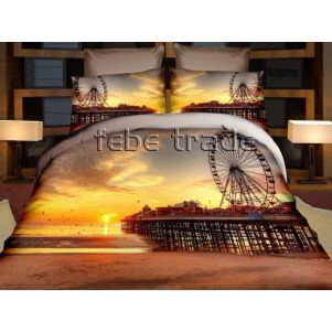 Pościel 3D - Cotton World - FPP-239 - 220x200 cm - 4 cz