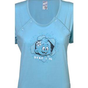 Piżama damska dla karmiących BENTER 61388