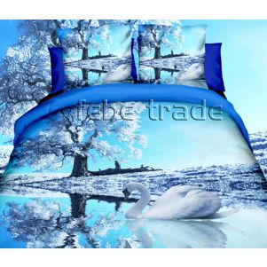 Pościel 3D - Cotton World - FPP-248 - 160x200 cm - 4 cz
