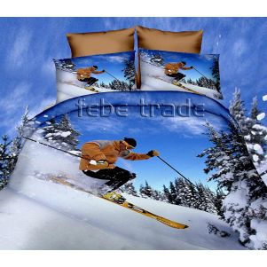 Pościel 3D - Cotton World - FPP-249 - 160x200 cm - 4 cz