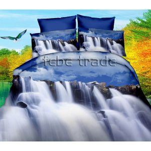 Pościel 3D - Cotton World - FPP-250 - 160x200 cm - 3 cz