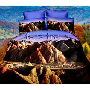 Pościel 3D - Cotton World - FPP-251 - 160x200 cm - 3 cz