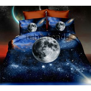 Pościel 3D - Cotton World - FPP-254 - 160x200 cm - 4 cz