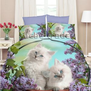 Pościel 3D - Cotton World - FPP-255 - 160x200 cm - 4 cz