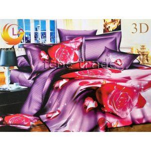 Pościel 3D - BE-Z-88 - 160x200 cm - 3 cz