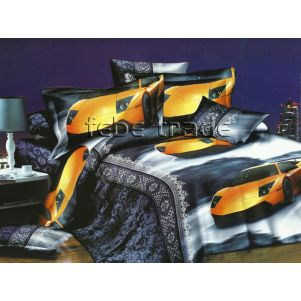 Pościel 3D - Cotton World - FSC-231 - 180x200 cm - 4 cz