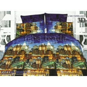 Pościel 3D - Cotton World - FSP-167 - 160x200 cm - 4 cz