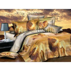 Pościel 3D - Cotton World - FSB-226 - 180x200 cm - 4 cz