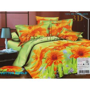 Pościel 3D - Cotton World - FSB-229 - 180x200 cm - 4 cz