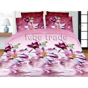 Pościel 3D - Cotton World - FST-1711 - 160x200 cm - 3 cz