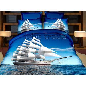 Pościel 3D - Cotton World - FPW-237 - 220x200 cm - 6 cz