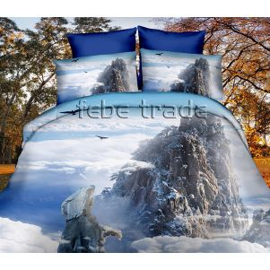 Pościel 3D - Cotton World - FPP-251 - 160x200 cm - 4 cz