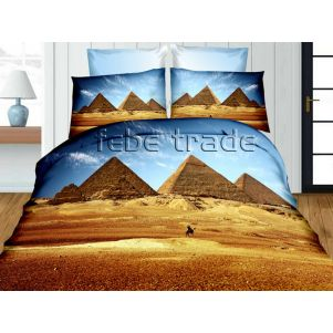 Pościel 3D - Cotton World - FPP-238 - 220x200 cm - 3 cz