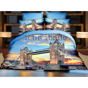 Pościel 3D - Cotton World - FPP-238 - 220x200 cm - 4 cz