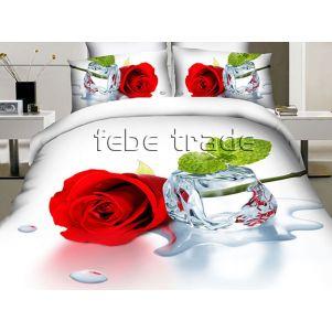 Pościel 3D - Cotton World - FSB-2001 - 160x200 cm - 3 cz