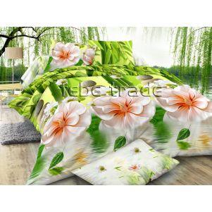 Pościel 3D - Cotton World - FST-351 - 160x200 cm - 3 cz