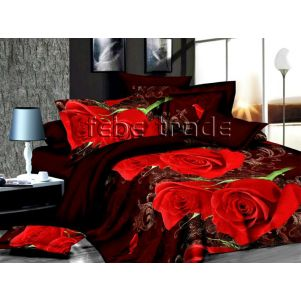 Pościel 3D - Cotton World - FST-1715 - 160x200 cm - 3 cz