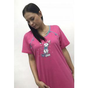Koszula nocna dla karmiących BENTER 65576
