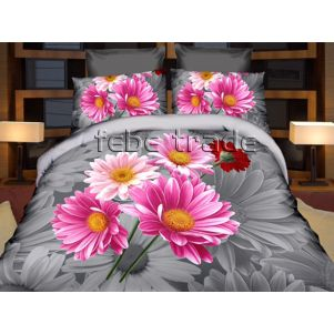 Pościel 3D - Cotton World - FPW-391 - 220x200 cm - 3 cz