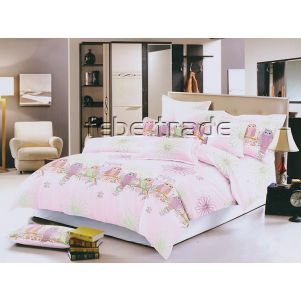 Pościel 3D - Cotton World - FSC-241 - 160x200 cm - 4 cz