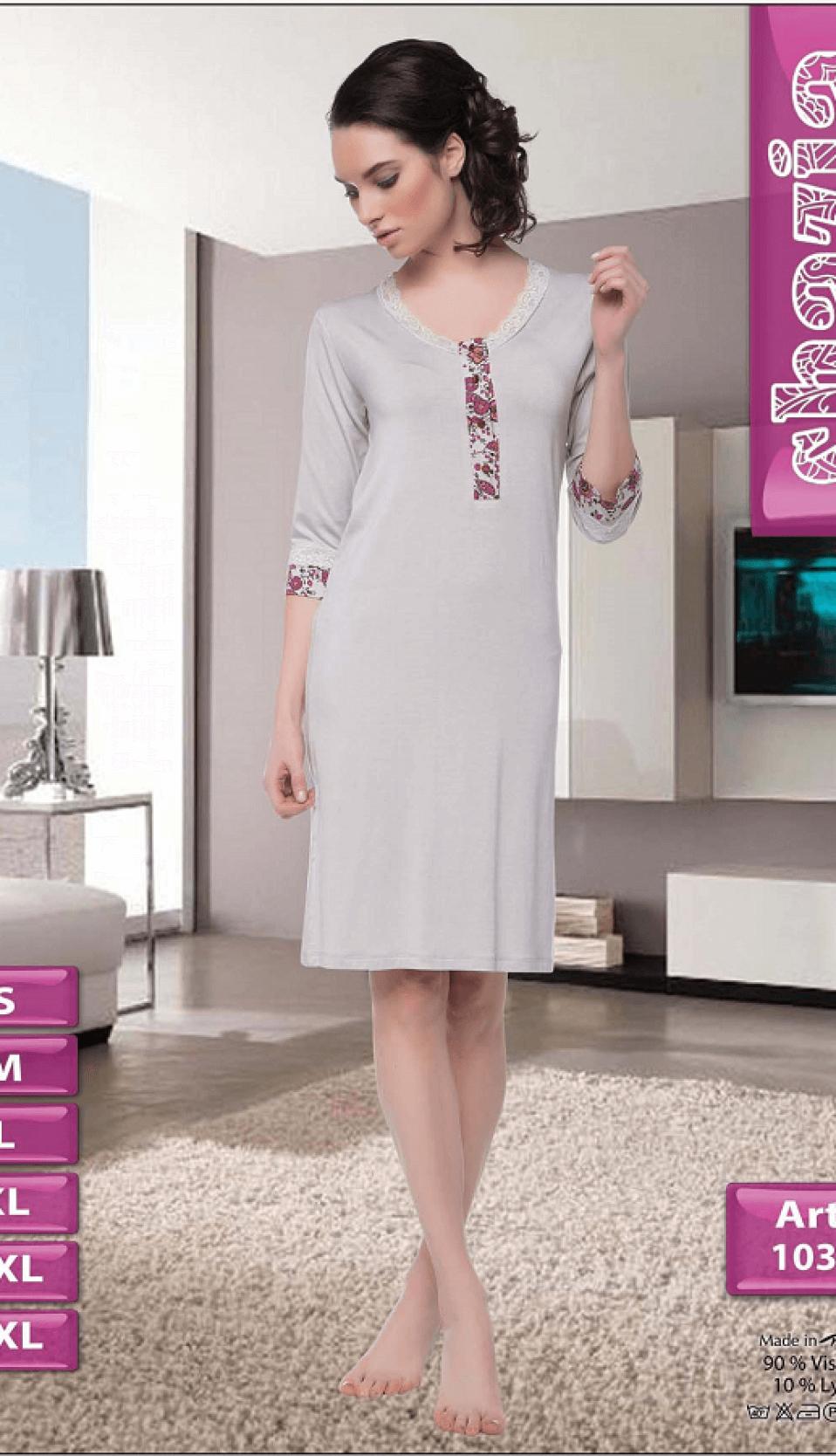 Nightgown SHAZIA S-1033