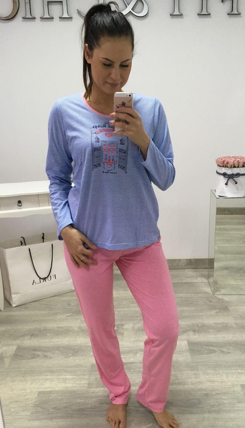 Ladies pajama C - Lemon - BH7906