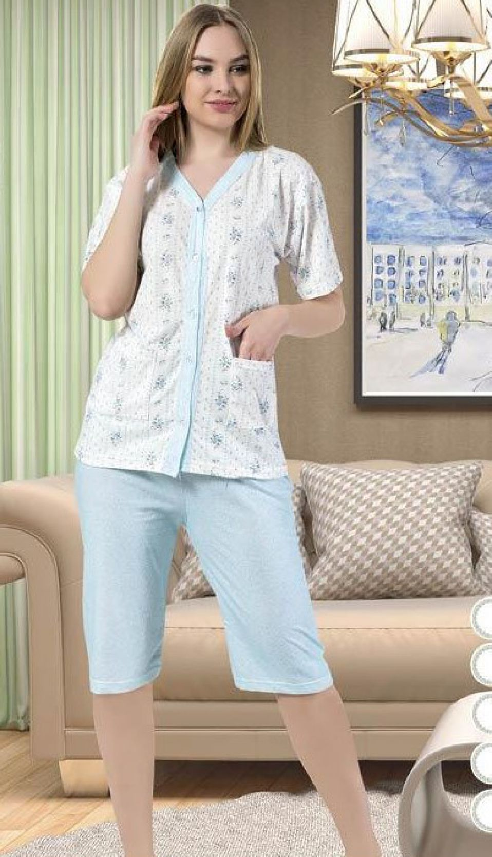 Ladies pajama ASMA - 9071