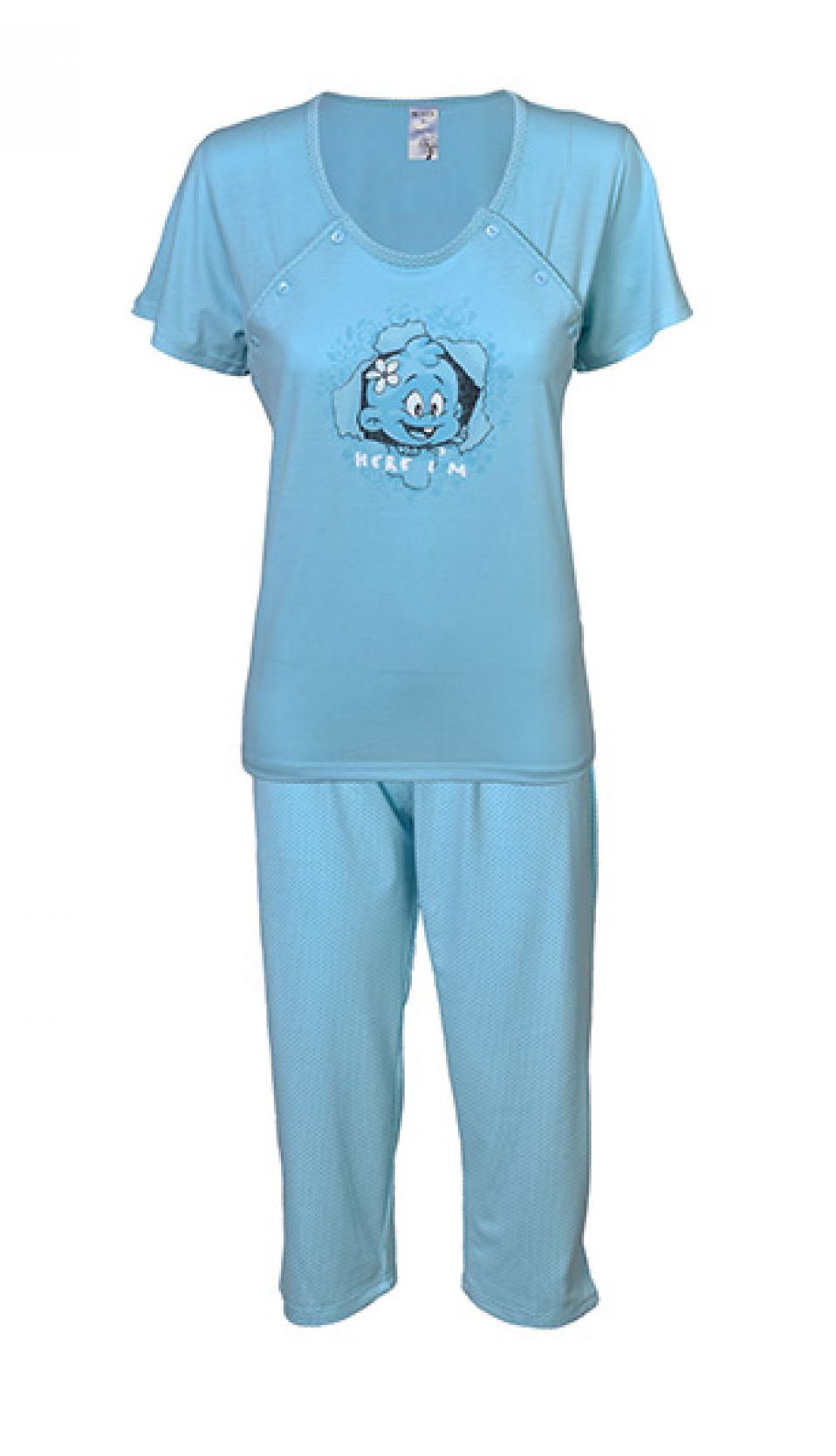 Ladies pajama for breastfeeding BENTER 61388